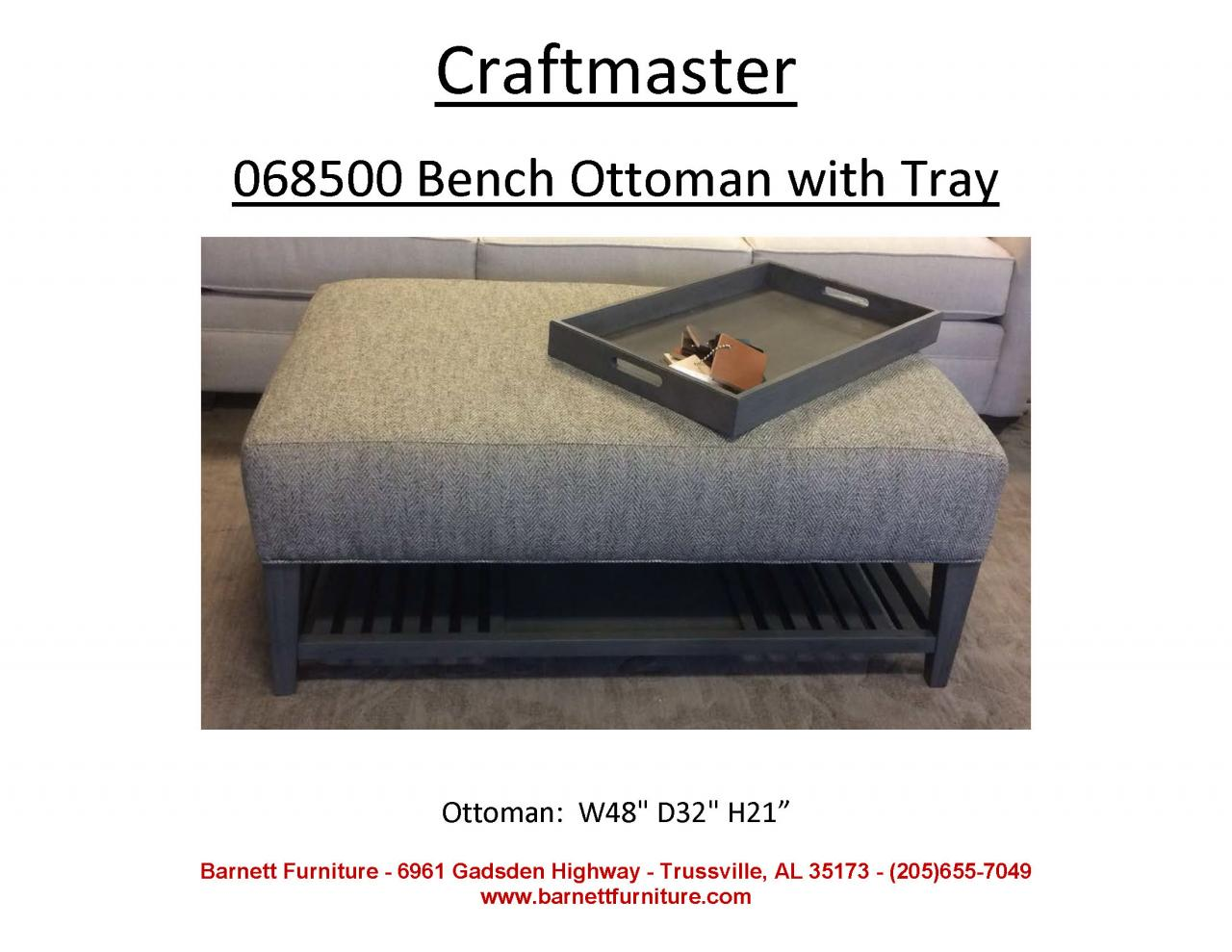 Barnett Furniture Ottomans