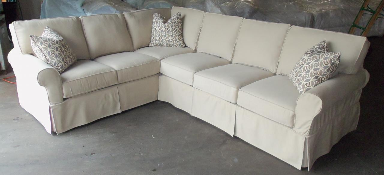 Rowe Furniture Masquerade Slipcover Sectional
