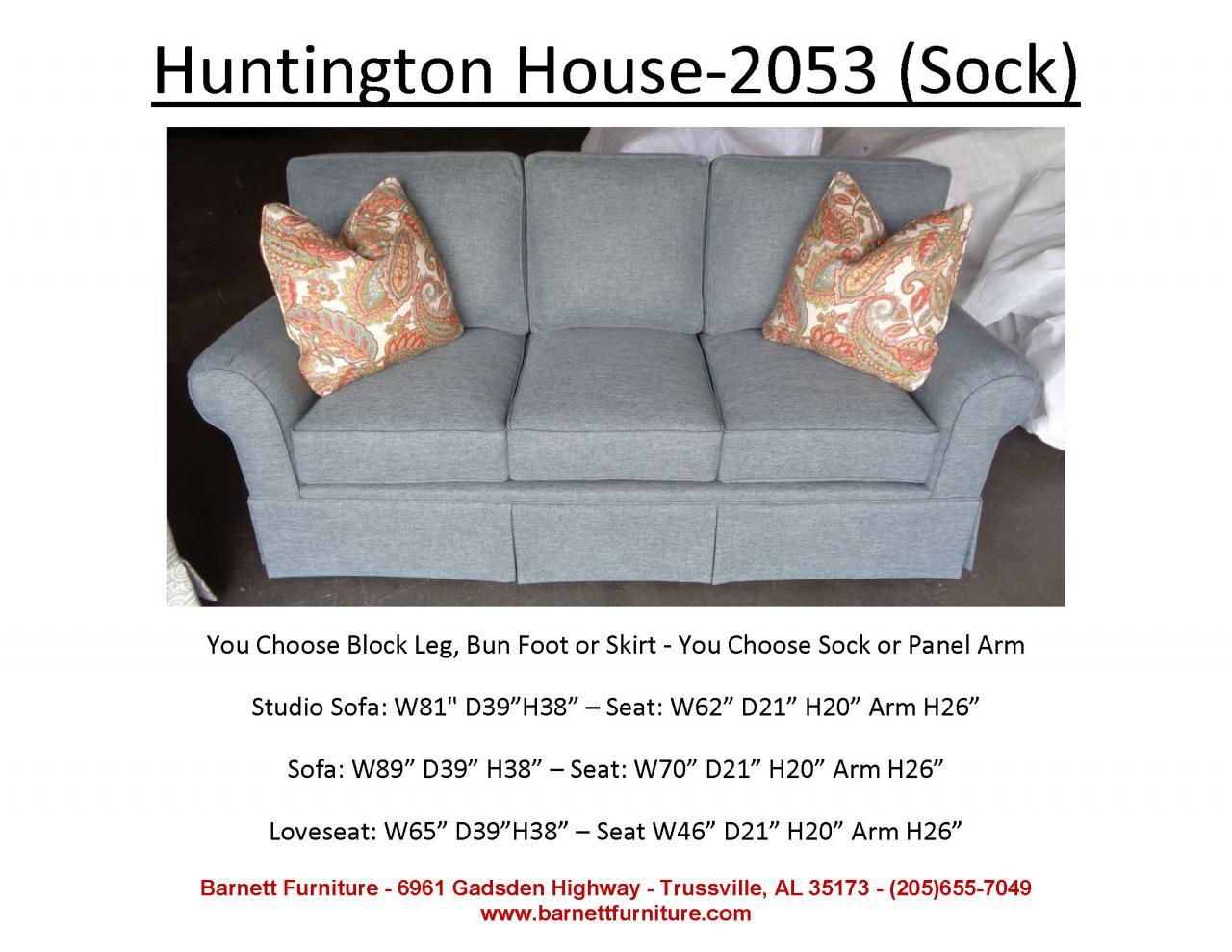 ... Huntington House 2053 With Sock Arm And Skirt ...