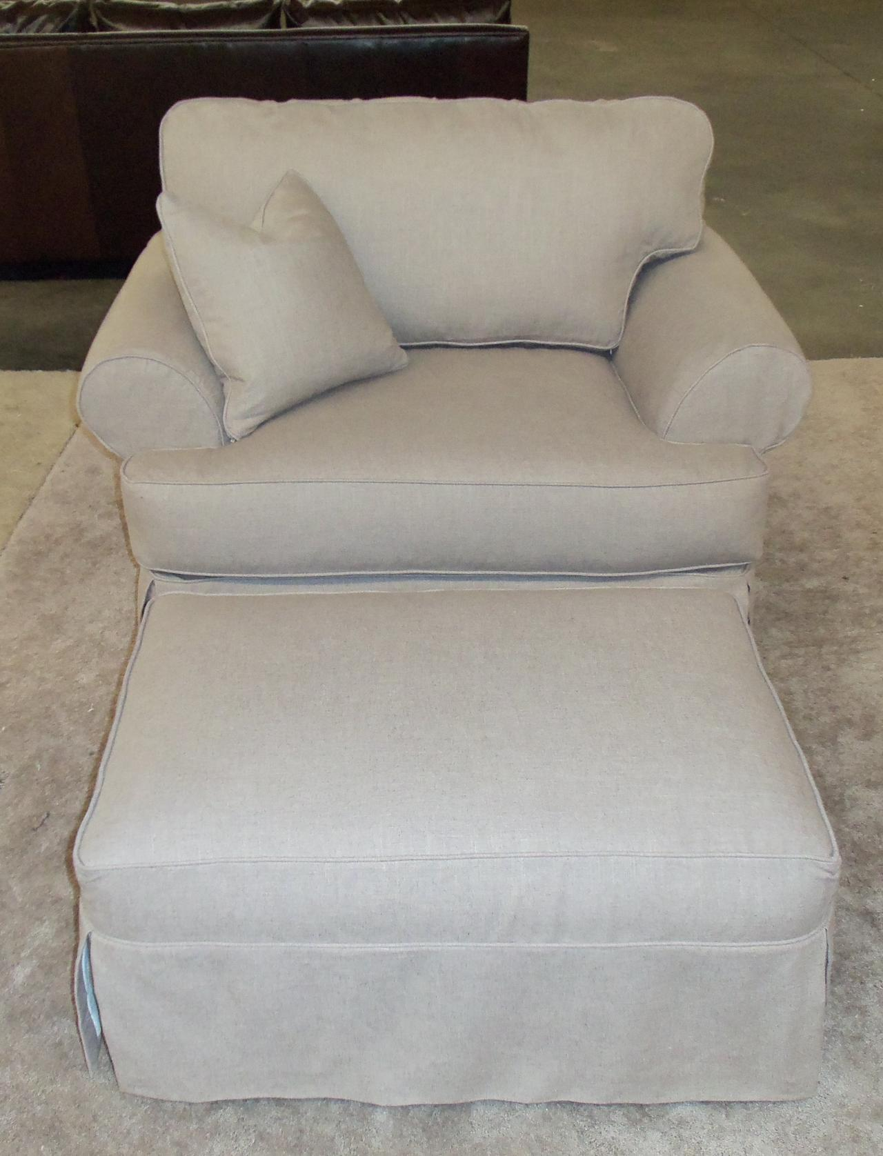 Barnett Furniture Rowe furniture Addison slipcover