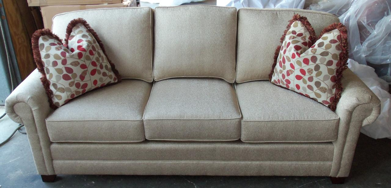 barnett furniture - king hickory bentley sofa