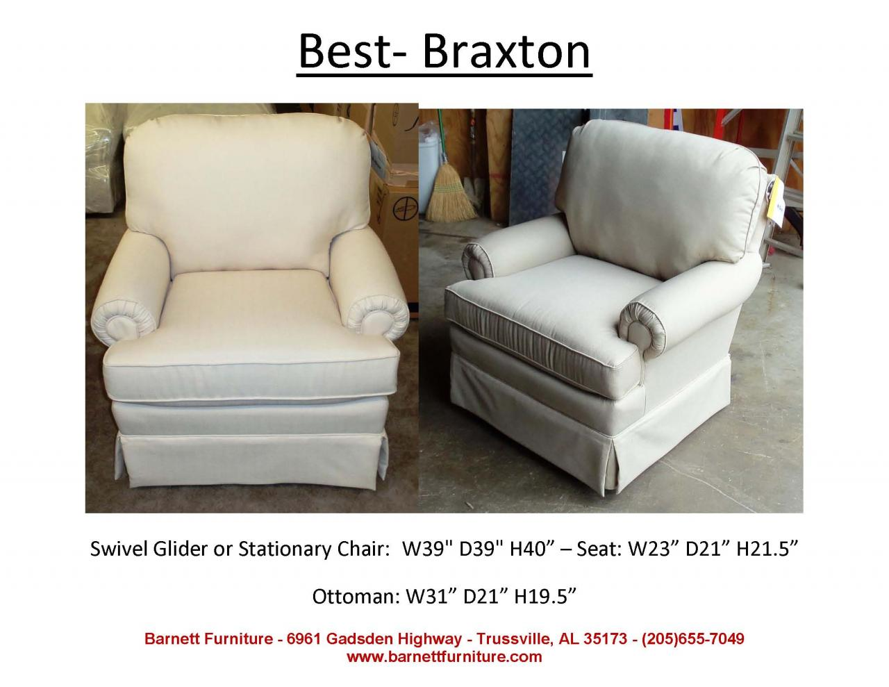 ... Best Braxton Swivel Chair ...