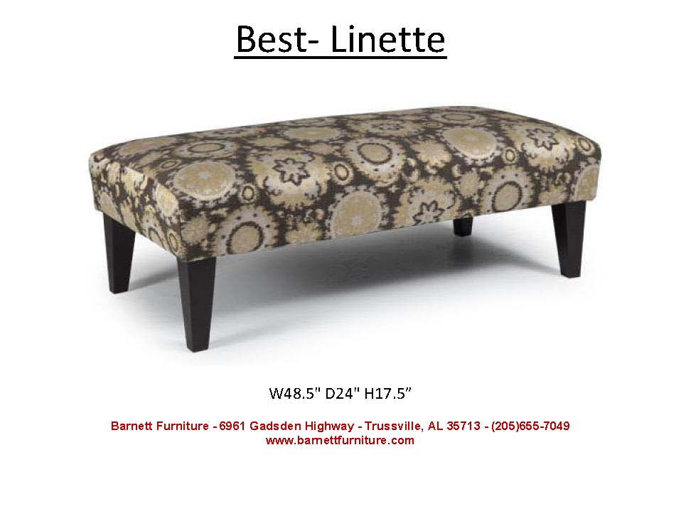 Awe Inspiring Barnett Furniture Ottomans Gmtry Best Dining Table And Chair Ideas Images Gmtryco