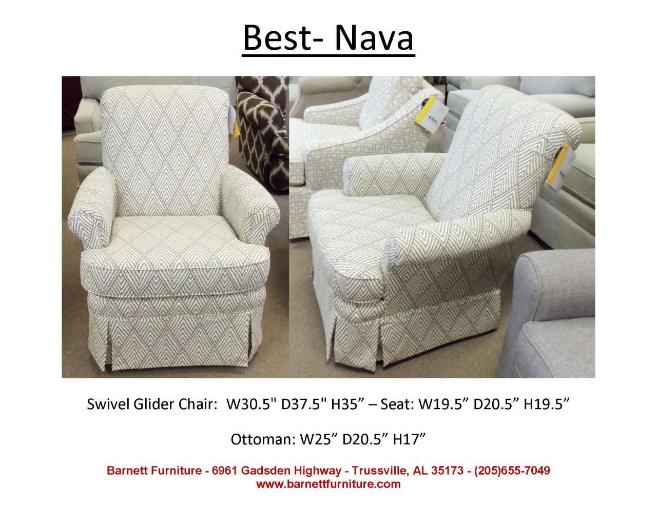 ... Swivel Glider · Southern Furniture 4566 · Best Nava ...