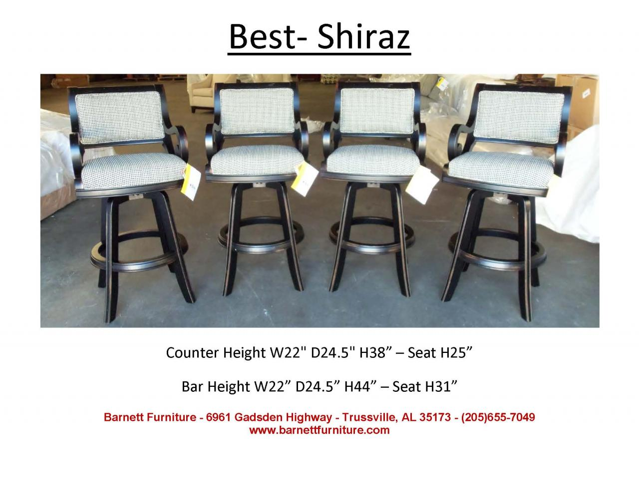 Best Shiraz Bar Stool