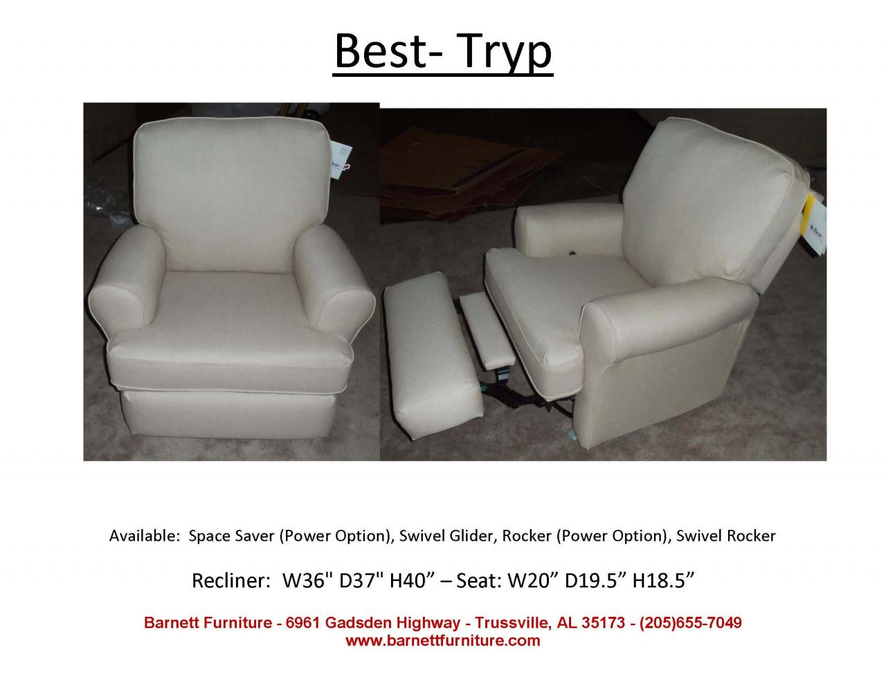 Barnett Furniture Recliners