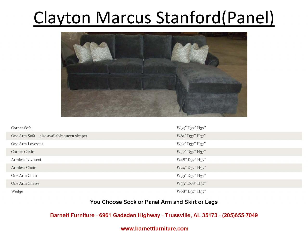 Clayton Marcus Stanford Sectional