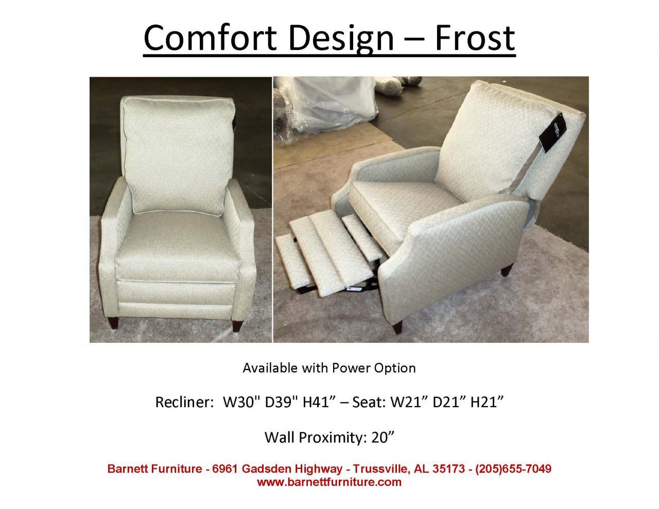 ... Comfort Design Frost Recliner ...  sc 1 st  Barnett Furniture & Barnett Furniture - recliners islam-shia.org