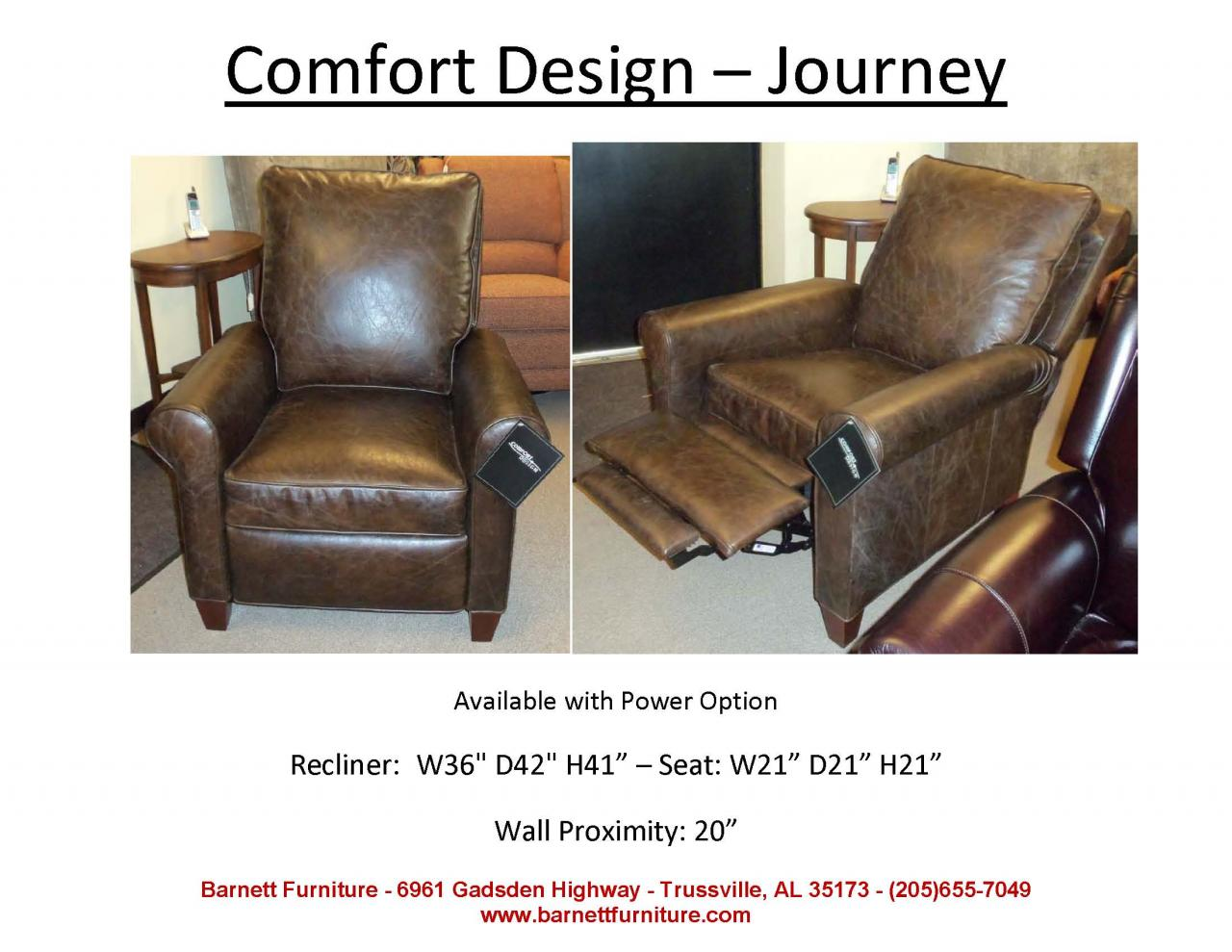 Recliners That Do Not Look Like Recliners Barnett Furniture Recliners