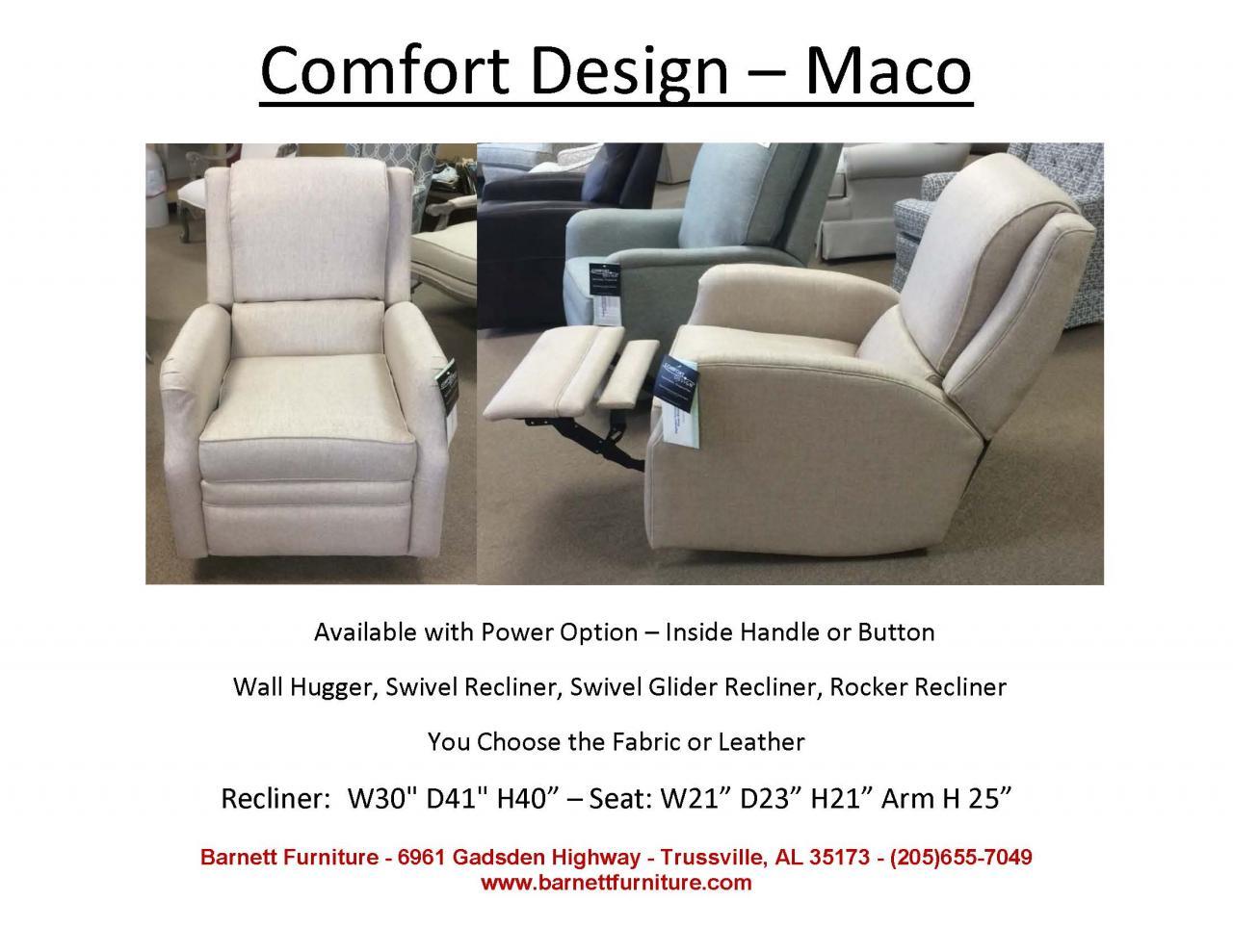 Comfort Design Maco Recliner