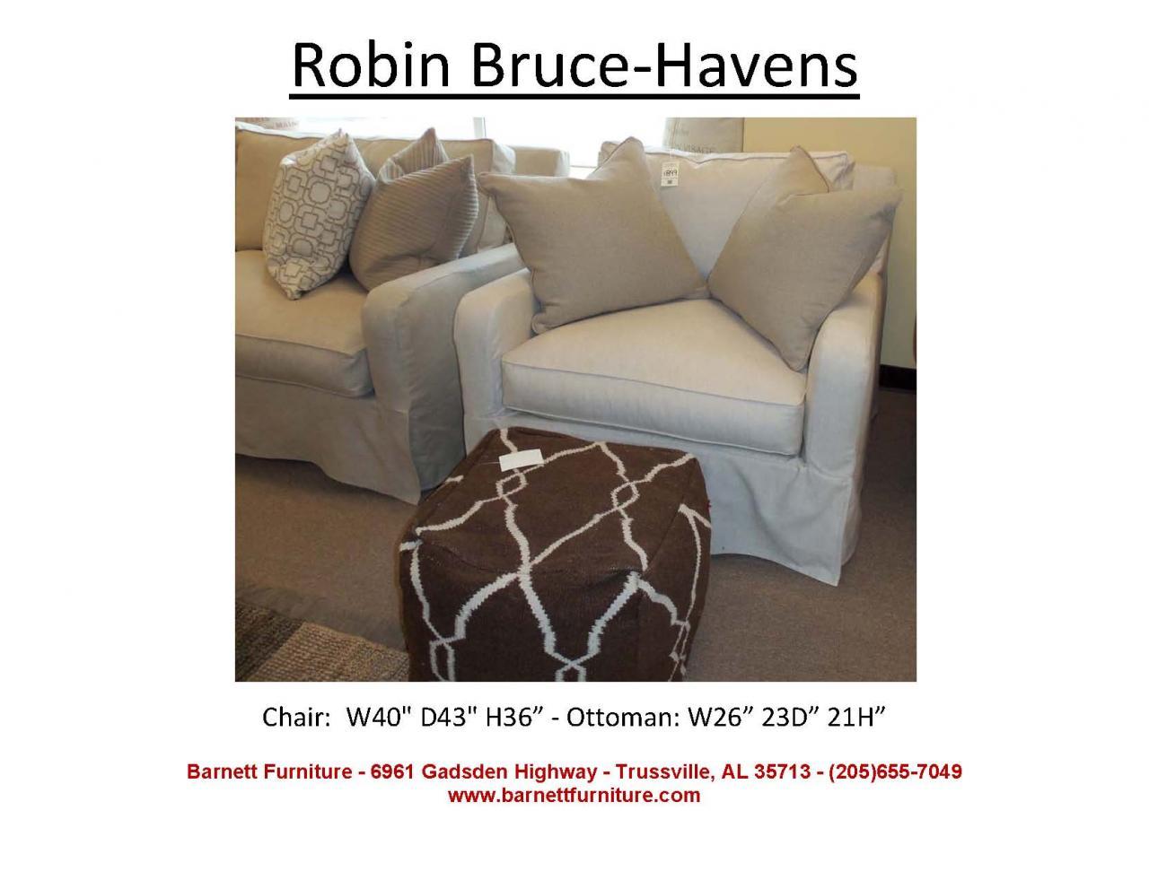 Robin Bruce Havens Slipcover Chair