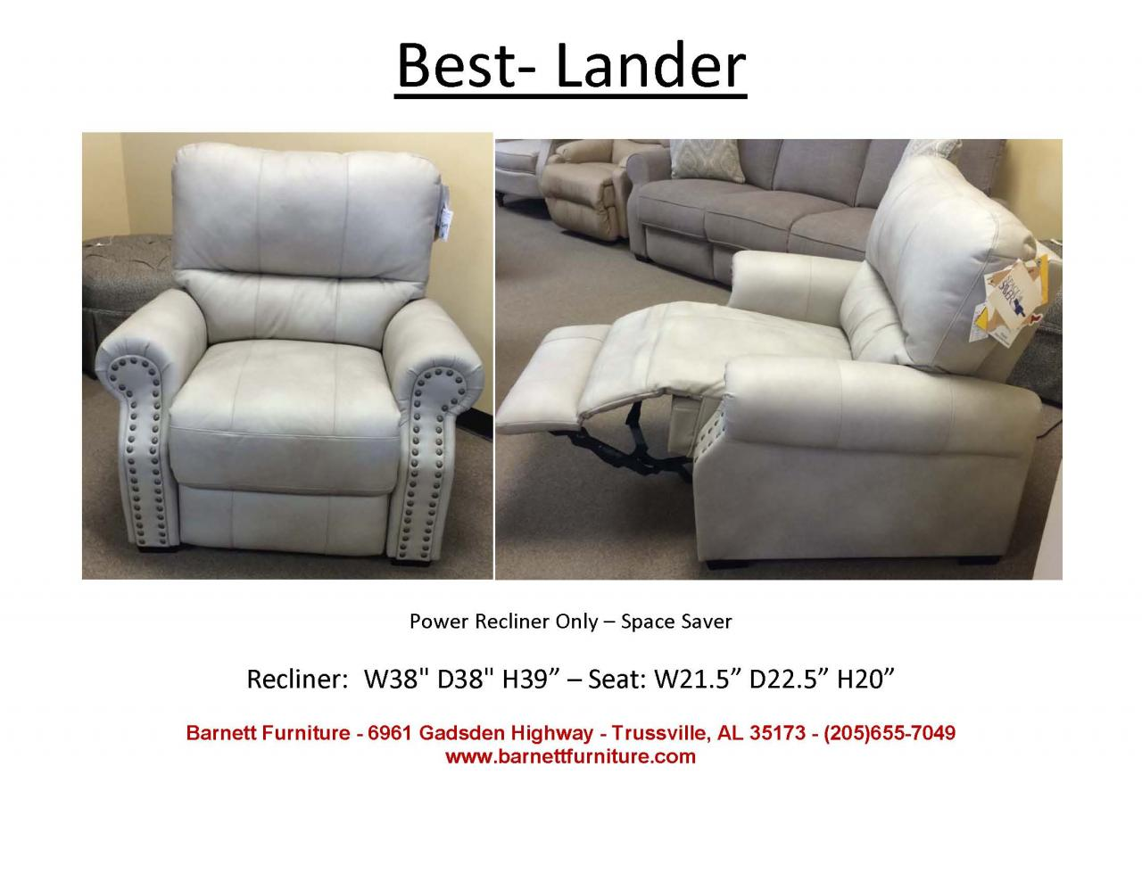 Best Home Furnishings Lander Recliner