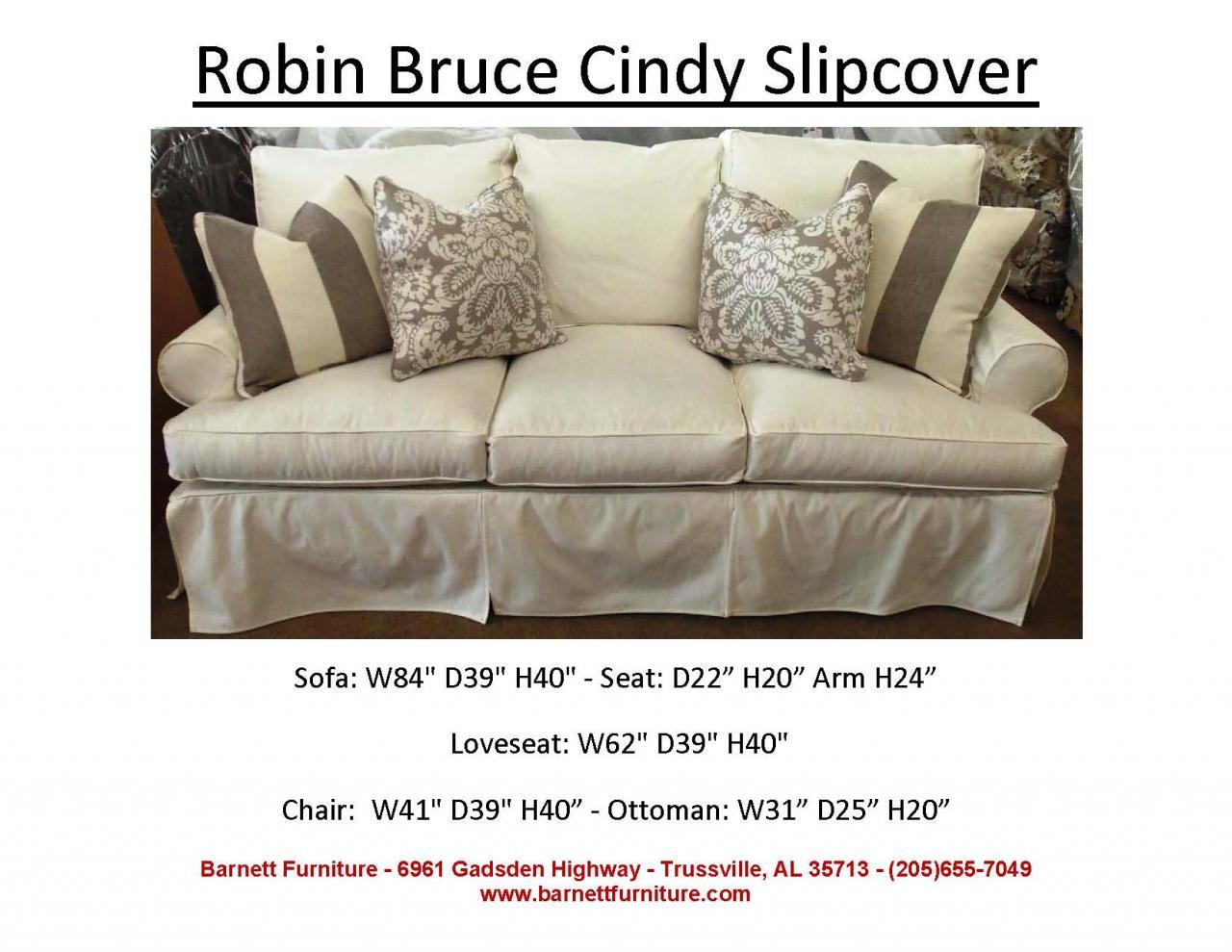 ... Robin Bruce Cindy Slipcover Sofa ...