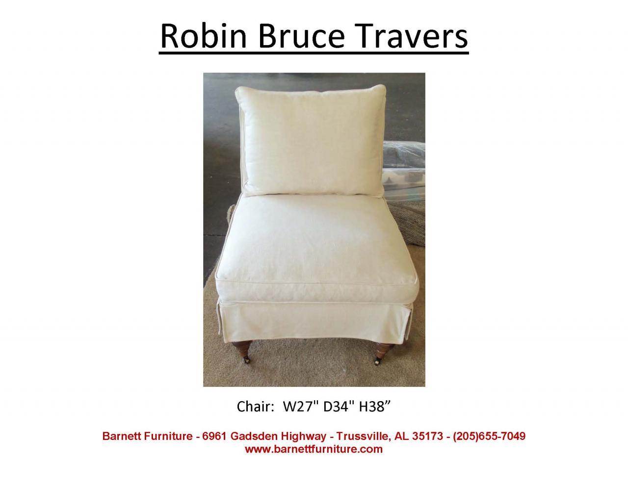 Robin Bruce Travers Slipover Chair