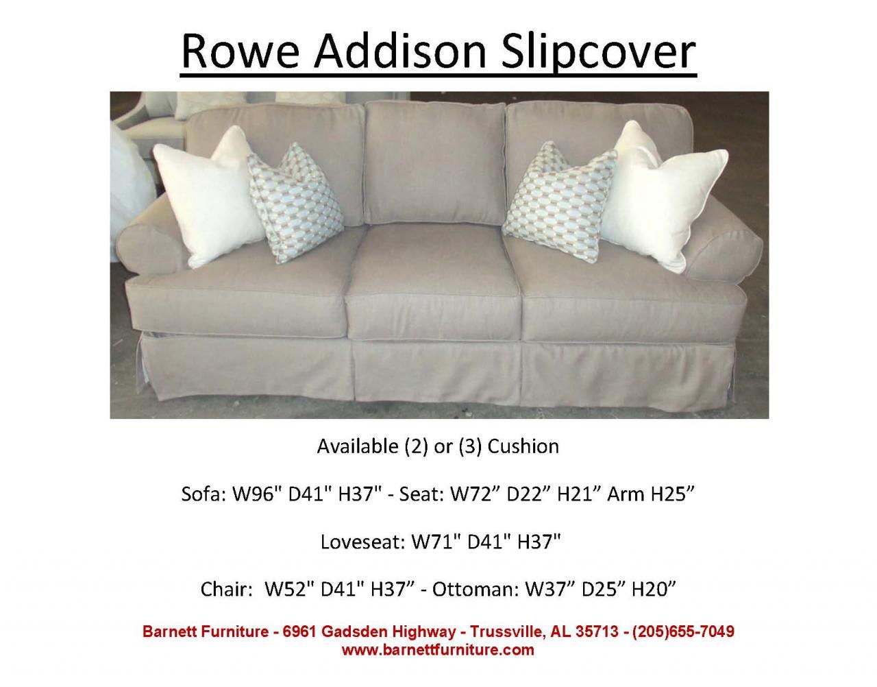 ... Rowe Addison Slipcover Sofa ...